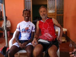 Addis, best biker in Ethiopia